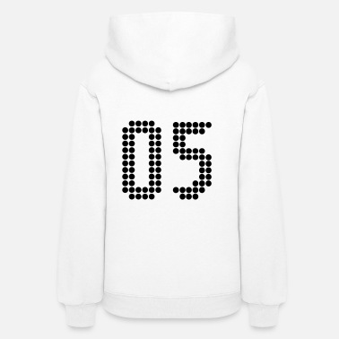 Jersey Number 05, Numbers, Football Numbers, Jersey Numbers - Women's Hoodie