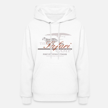 Leopard Cheetah - Hunting Leopard - Safari Camp - Women's Hoodie