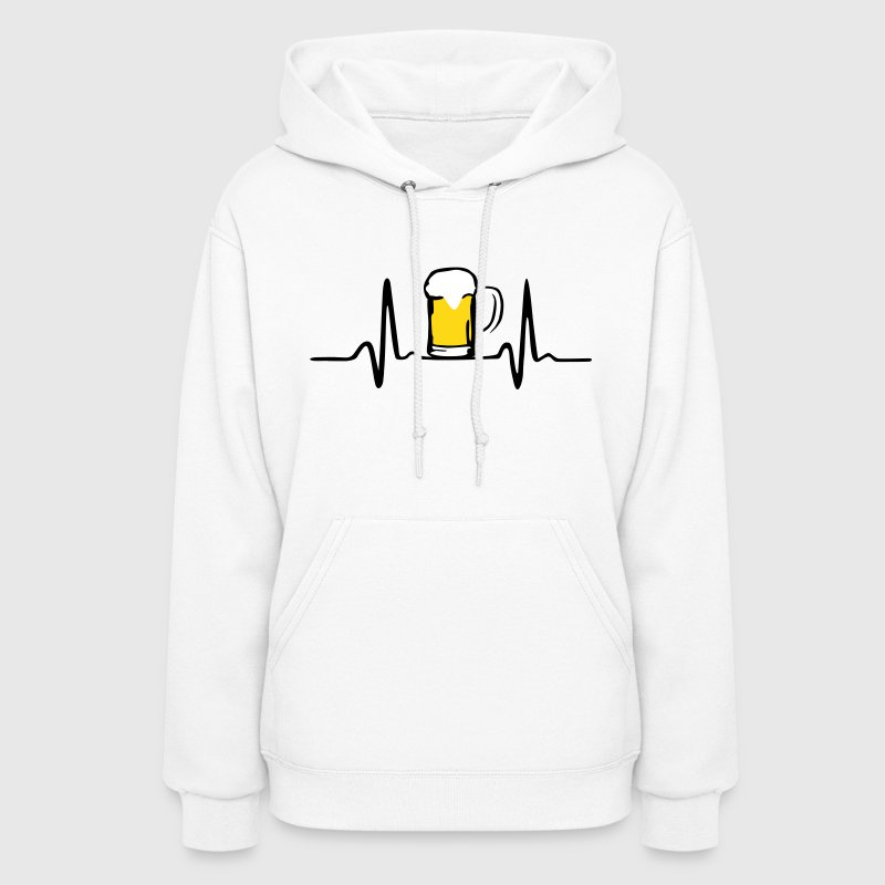 Beer and Heartbeat - Women's Hoodie