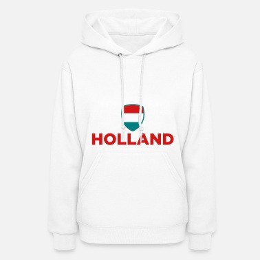 Netherlands National Flag of Netherlands - Women's Hoodie