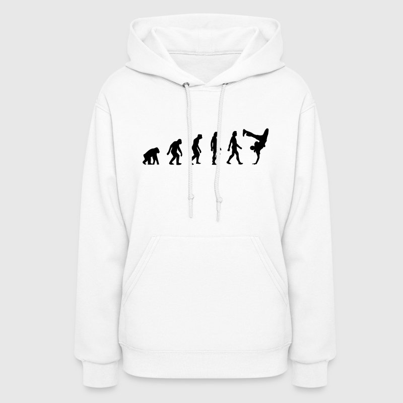 The Evolution of Breakdancing - Women's Hoodie