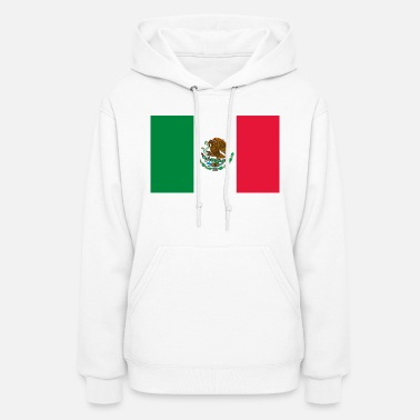 City &amp Mexican Flag - Women's Hoodie