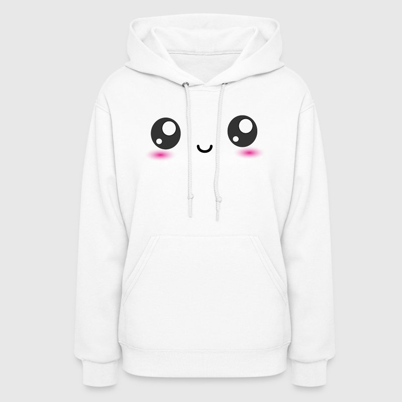 Kawaii Smiley Happy Face - Women's Hoodie