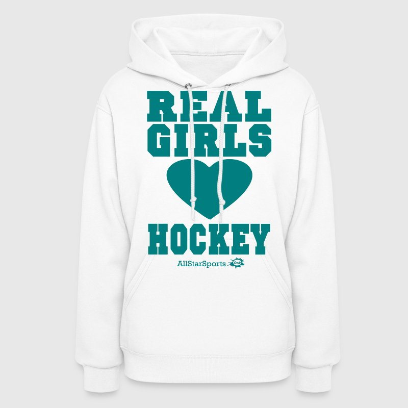 REAL GIRLS LOVE HOCKEY - Women's Hoodie