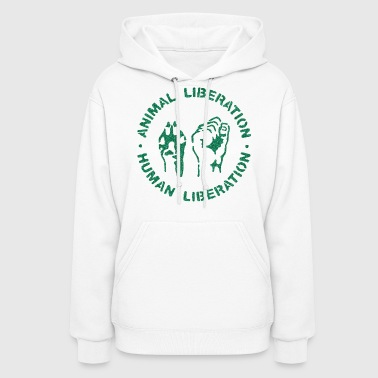 Contrast animal rights - Women's Hoodie