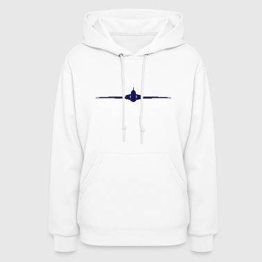 Fighter Plane Jet Air Force - Women's Hoodie