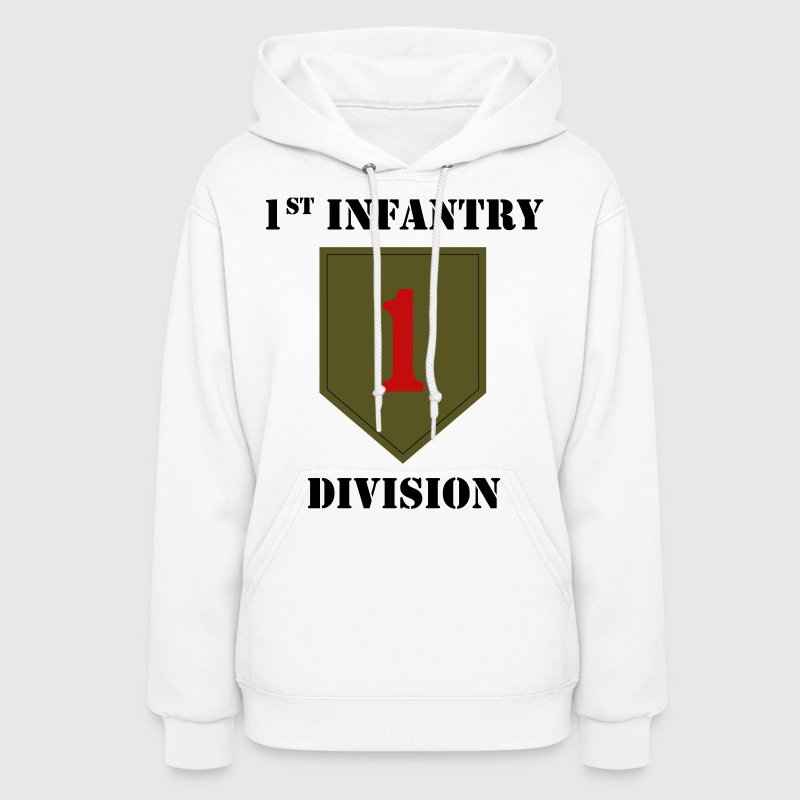 1st Infantry Division W/Text - Women's Hoodie