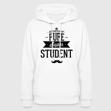 100 percent pure super student - Women's Hoodie
