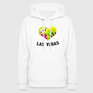 Love Las Vegas Heart design 3 - Women's Hoodie