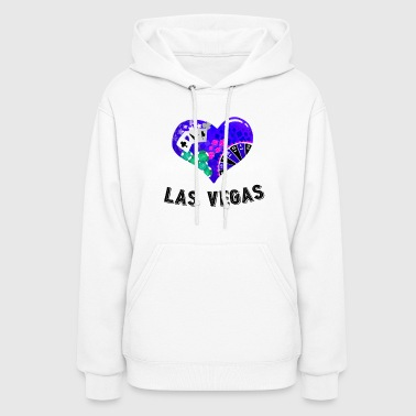 Love Las Vegas Heart design 2 - Women's Hoodie