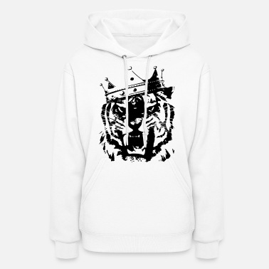 King And Queen Tiger king - Women's Hoodie