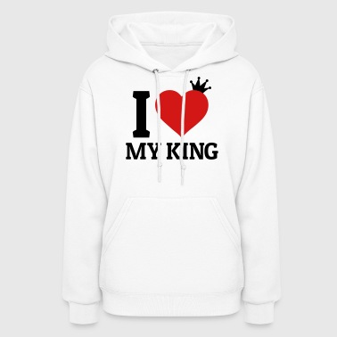 Queen And King I love my King - Women's Hoodie
