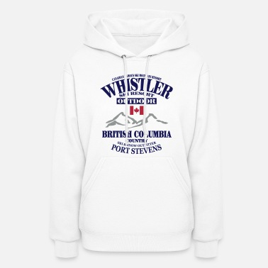 Ski Resort Whistler - Canada Ski Resort - Women's Hoodie