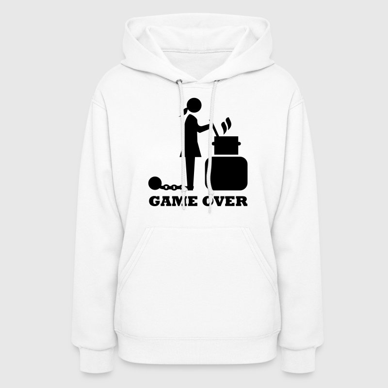 game over cooking woman bachelorette bachelor   - Women's Hoodie
