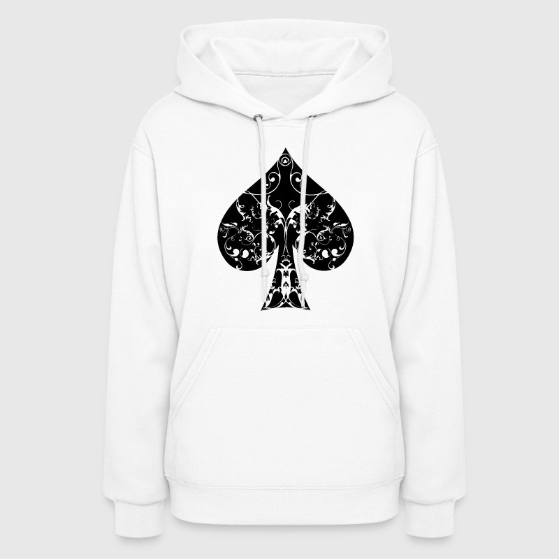 Ace of Spade floral tribal spades poker hold ´em - Women's Hoodie