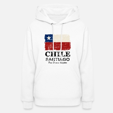 Chile Chile Flag - Vintage Look - Women's Hoodie