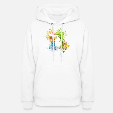 State Michigan Four Season State Art - Women's Hoodie