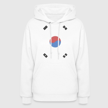 Korean South Korea Flag - Women's Hoodie