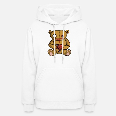 Broken Heart sad love - Women's Hoodie
