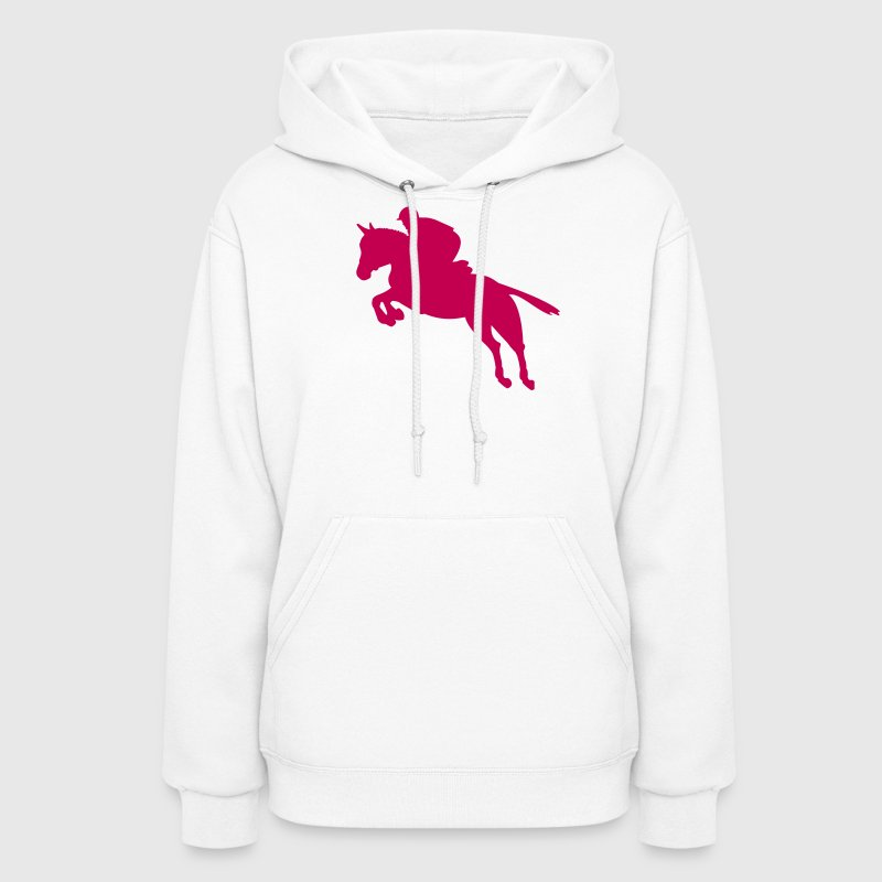 Show jumping horse - Women's Hoodie
