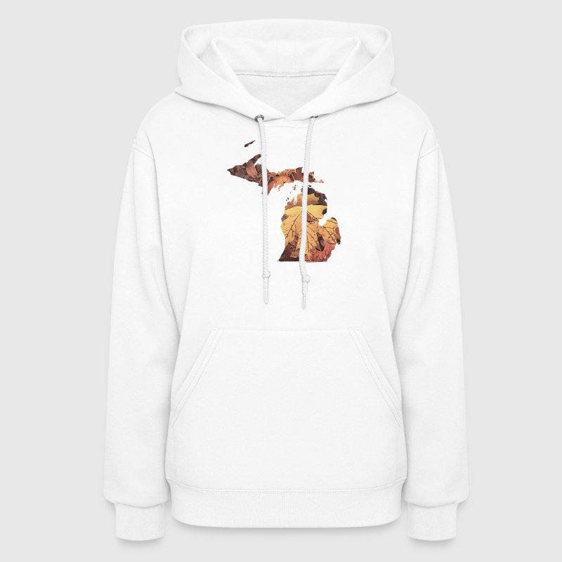 Michigan Autumn Fall Leaves - Women's Hoodie