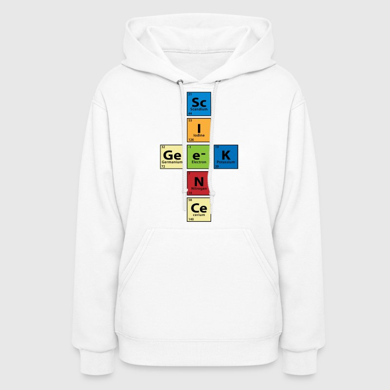 Science Geek - Women's Hoodie