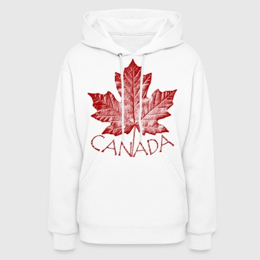 canada maple leaf souvenirs canada gifts - Women's Hoodie