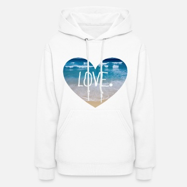 Spring Love the Beach - Women's Hoodie