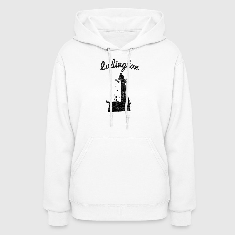 Ludington Michigan Lighthouse - Women's Hoodie