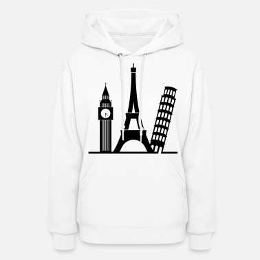 Cool Europe (1c)++ - Women's Hoodie