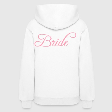 Bride Text Word Graphic Design Picture Vector - Women's Hoodie