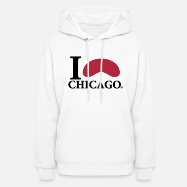Windy City I Love Chicago Cloud Gate - Women's Hoodie