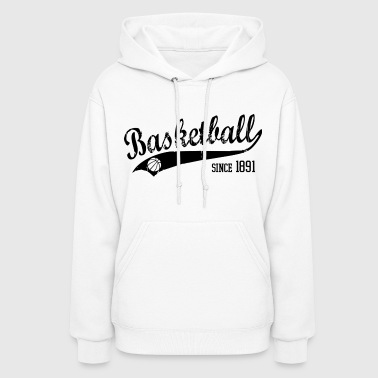 Basketball Slogan My Hood Used Look Retro - Women's Hoodie