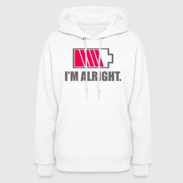 Battery level - Women's Hoodie
