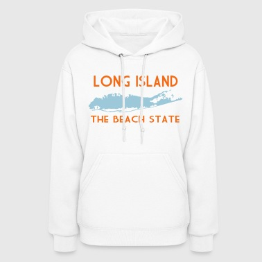 Long Island The Beach State - Women's Hoodie