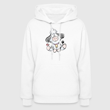 cow funny love animals and pets - Women's Hoodie