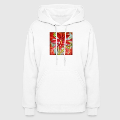 Red Flower - Women's Hoodie