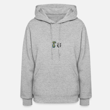 Special Forces U S Army Special Forces Green Berets SSI DUI - Women's Hoodie
