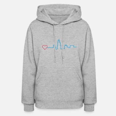Windy City Heart for Chicago - Women's Hoodie