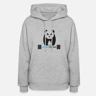 Weight-lifting Lifting Panda - Women's Hoodie