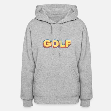 Golf golf wang 3D shirt - Women's Hoodie