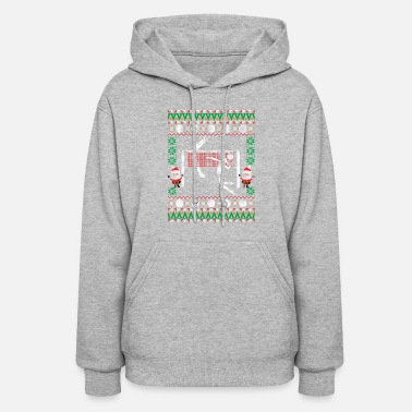 Volleyball Ugly Christmas Sweater Holiday Sports T Women S