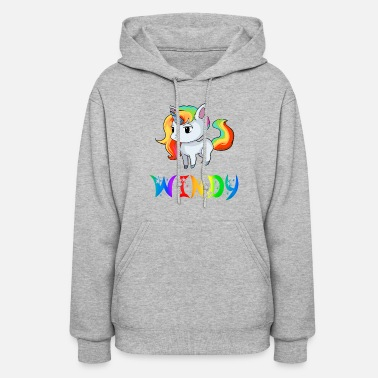 City Windy Unicorn - Women's Hoodie