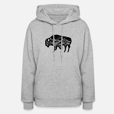 Bison Bison or Buffalo - Women's Hoodie