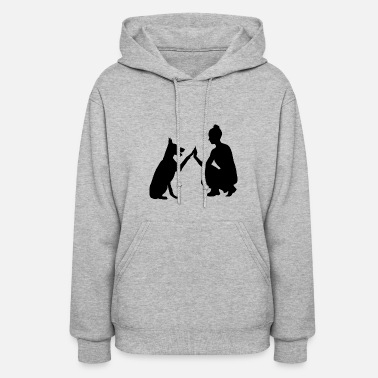 Dog Owner dog and owner - Women's Hoodie