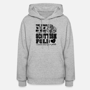 Fold Fold Love Scottish Fold Shirt - Women's Hoodie