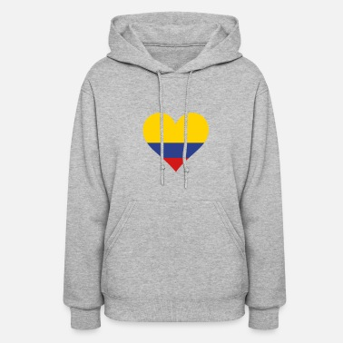Cultural Capital A Heart For Colombia - Women's Hoodie