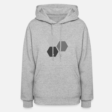 Hexagon Hexagons - Women's Hoodie