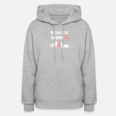 Rescue Dog Rescue Dog Mom - Women's Hoodie