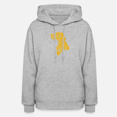 Rescue Dog Dog Rescue Is My Favourite Breed - Women's Hoodie
